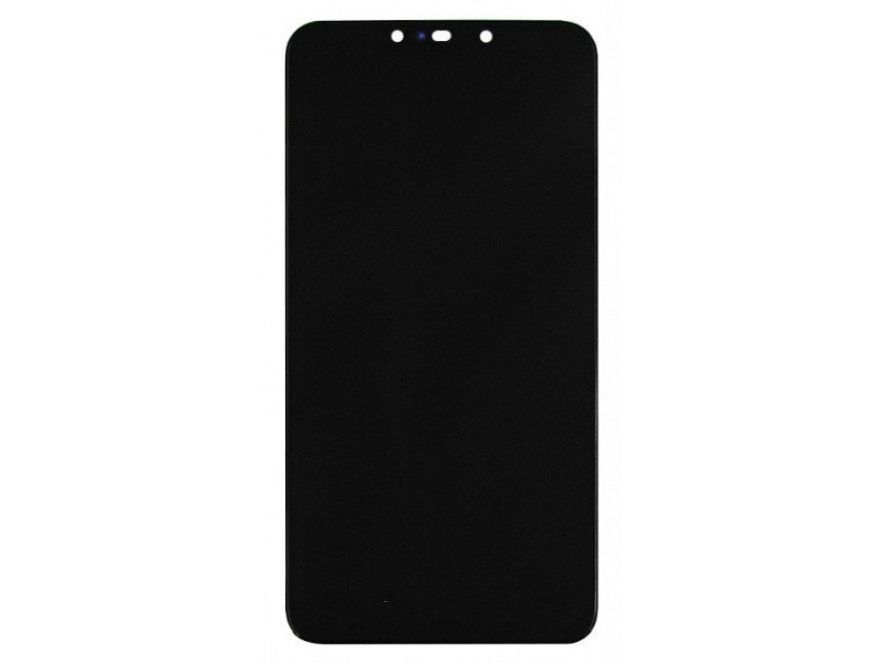 Huawei P Smart Plus / Nova 3i LCD + Touch + Frame + Battery - Black (Service Pack)