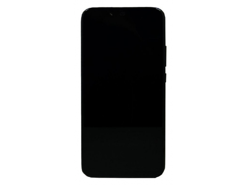Huawei Mate 20 Lite LCD + Touch + Frame + Battery Black (Service Pack)