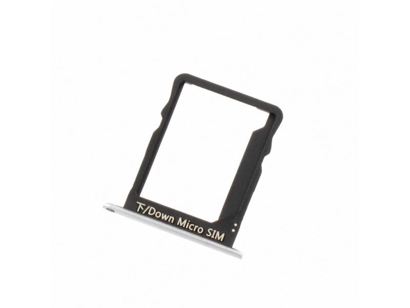 Huawei P8 Lite SIM Card Holder - Black(Service Pack)