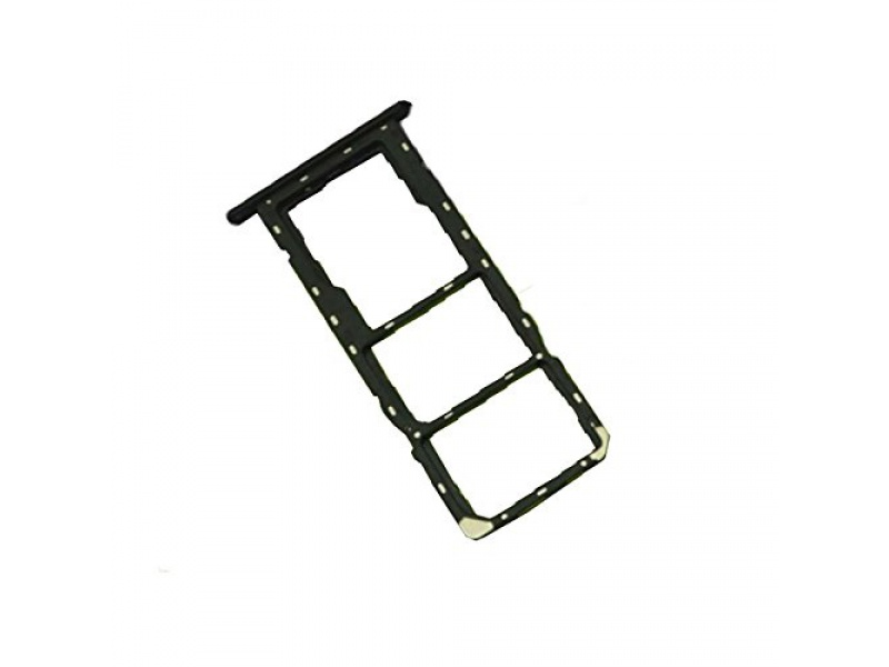 Huawei Y6 2018 SIM/SD Card Holder - Black (Service Pack)
