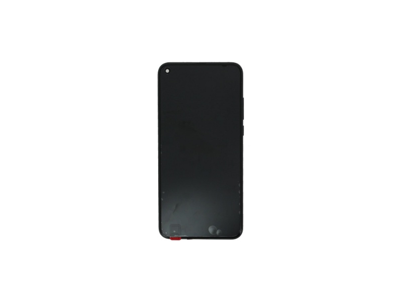 Huawei Honor View 20 LCD + Touch + Frame + Battery - Black (Service Pack)