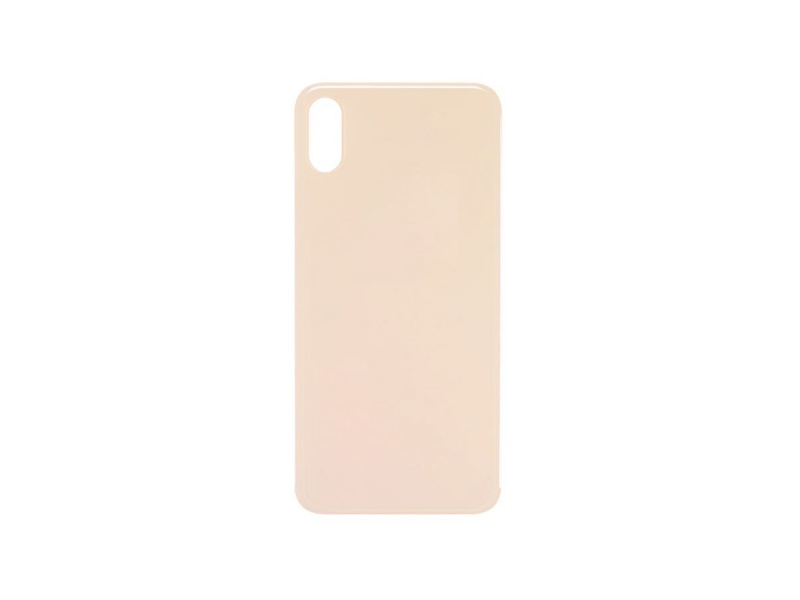 Back Cover Glass pro Apple iPhone XS (Gold)