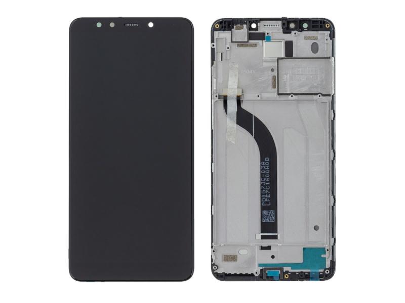 Xiaomi Redmi 5 LCD + Touch + Frame - Black (Service Pack)