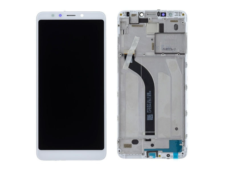Xiaomi Redmi 5 LCD + Touch + Frame - White (Service Pack)