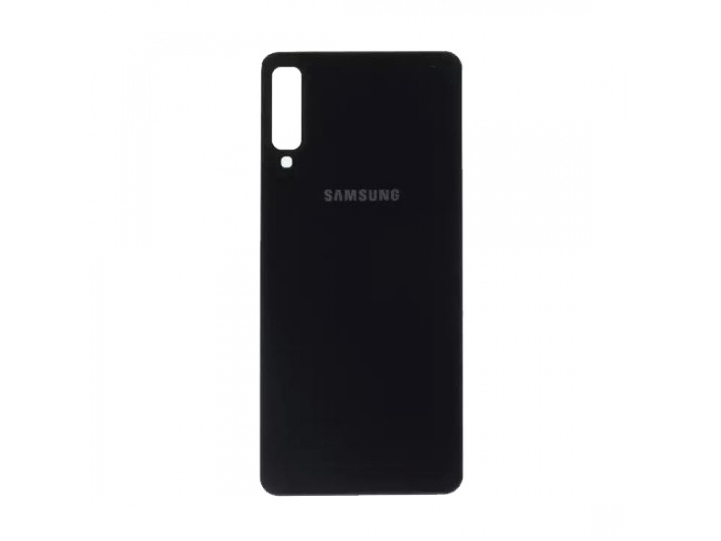 Back Cover pro Samsung Galaxy A7 (2018) Black (OEM)