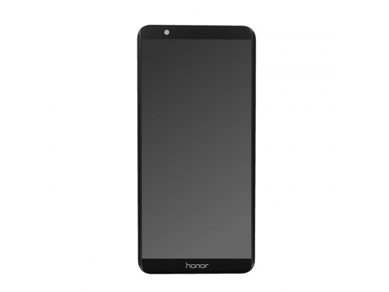 Huawei Honor 7X LCD + Touch + Frame + Battery - Black (Service Pack)