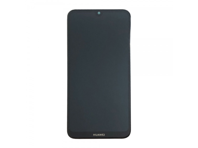 Huawei Y7 2019 LCD + Touch + Frame + Battery - Black (Service Pack)