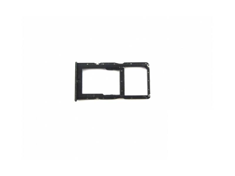 Huawei P30 Lite SIM/SD Tray - Black (Service Pack)