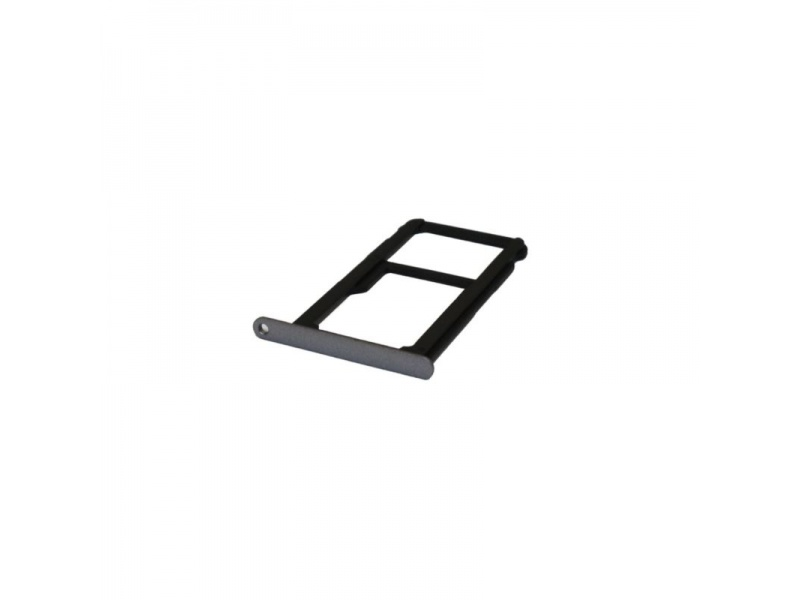 Huawei P10 Lite SIM Tray - Black (Service Pack)