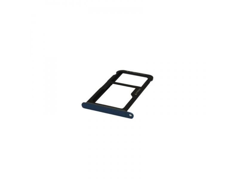 Huawei P10 Lite SIM Tray - Blue (Service Pack)