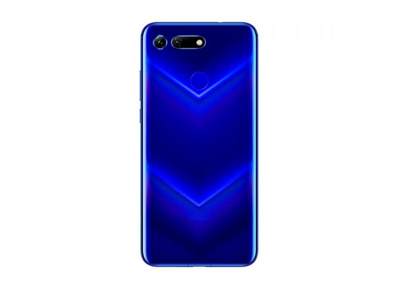 Huawei Honor View 20 Back Cover + Fingerprint Sensor - Blue (Service Pack)