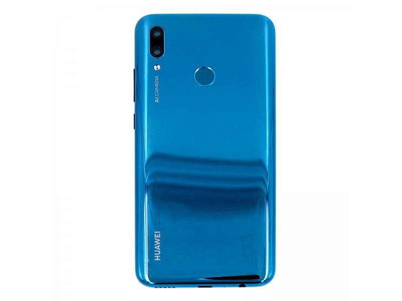 Huawei P Smart 2019 Back Cover + Fingerprint Sensor - Sapphire Blue (Service Pack)