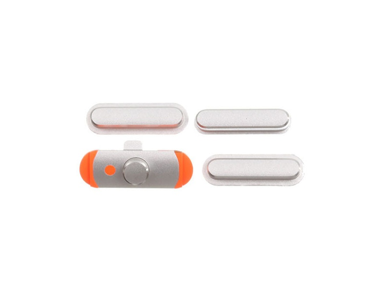 3 pcs set (Volume / Mute Button / Power) Silver pro Apple iPad Mini 1