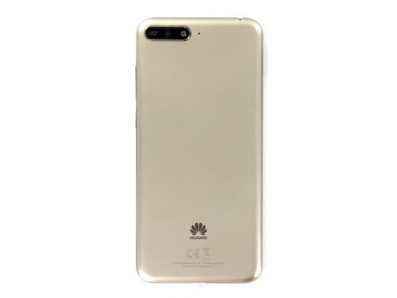 Huawei Y6 2018 Back Cover - Gold (Service Pack)