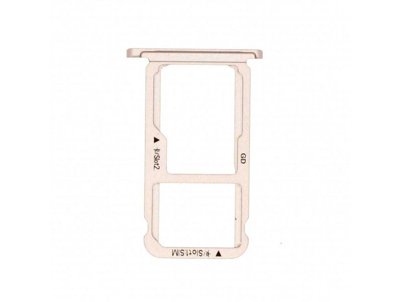 Huawei Honor 6X SIM Card Holder - Gold (Service Pack)