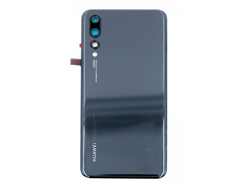 Huawei P20 Pro Back Cover - Black (Service Pack)