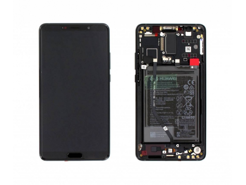 Huawei Mate 10 LCD + Touch + Frame + Battery - Black (Service Pack)