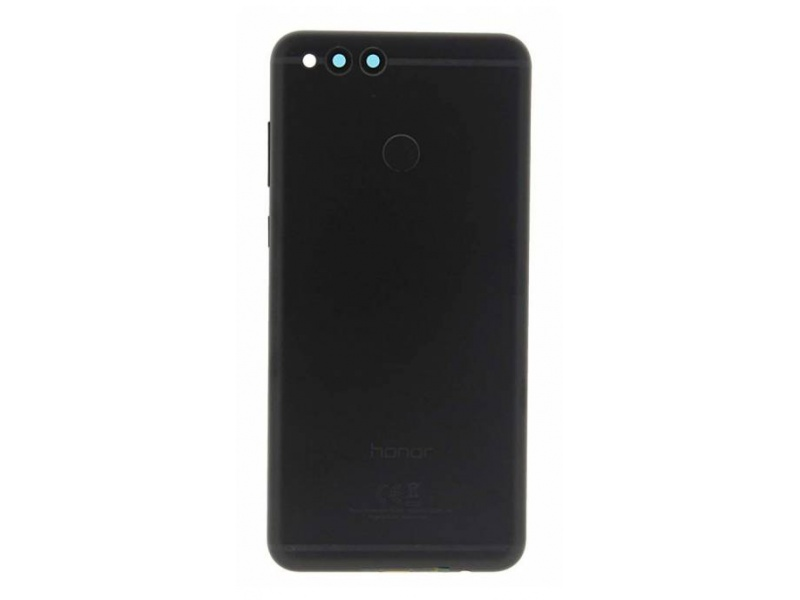 Huawei Honor 7X Back Cover - Black (Service Pack)