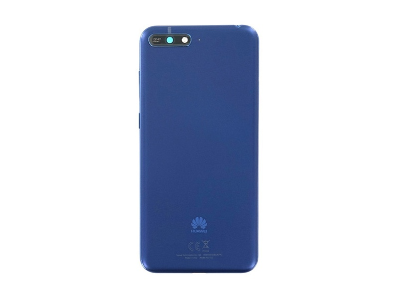 Huawei Y6 2018 Back Cover - Blue (Service Pack)