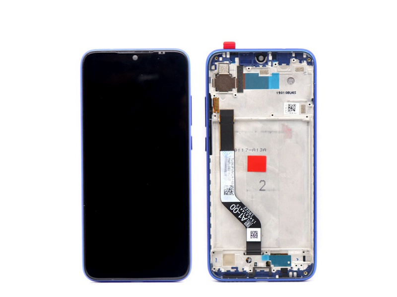 Xiaomi Redmi 7 LCD + Touch + Frame (Assembled) - Blue (OEM)