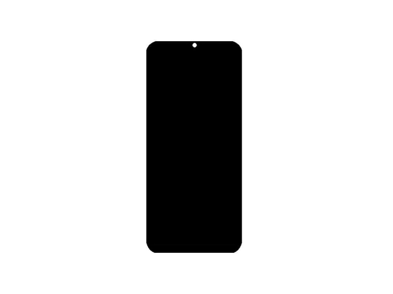 Huawei Honor 8A (Honor Play 8A) LCD + Touch + Frame + Battery - Black (Service Pack)