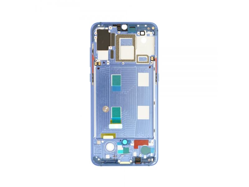 Xiaomi Mi 9 Front Frame - Blue (OEM)