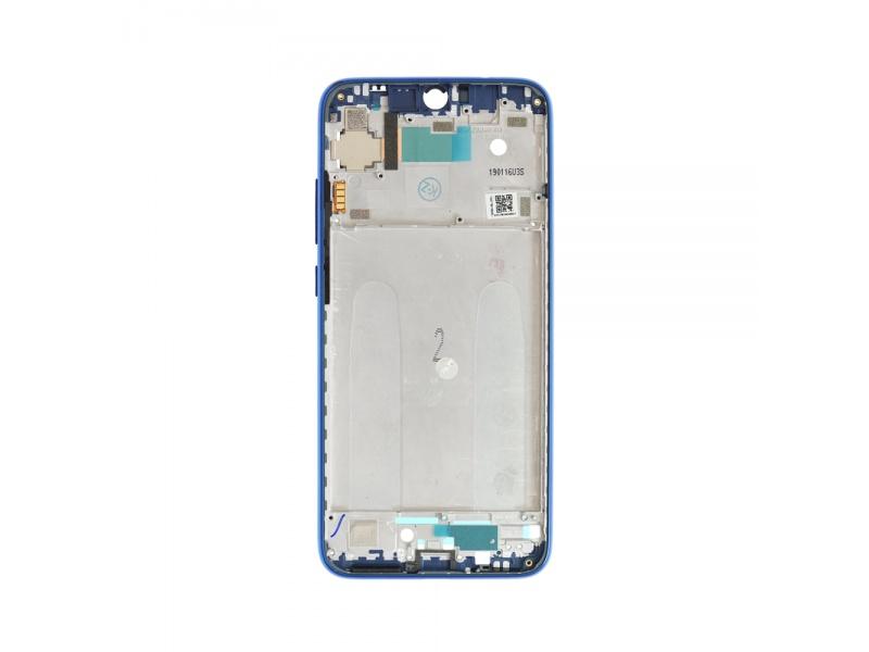 Xiaomi Redmi Note 7 Front Frame - Blue (OEM)