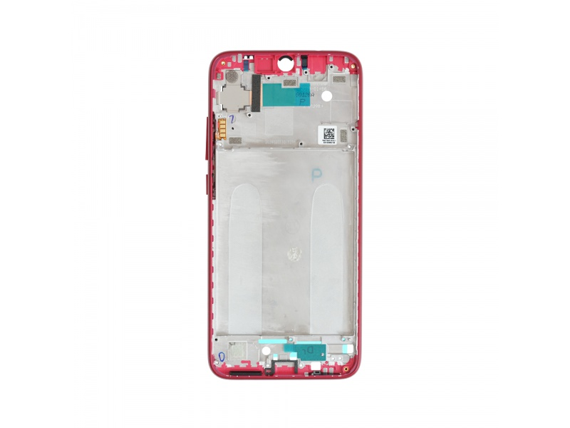 Xiaomi Redmi Note 7 Front Frame - Red (OEM)
