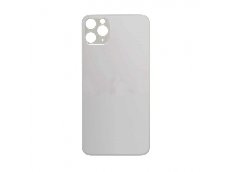 Back Cover Glass for Apple iPhone 11 Pro Max (White)