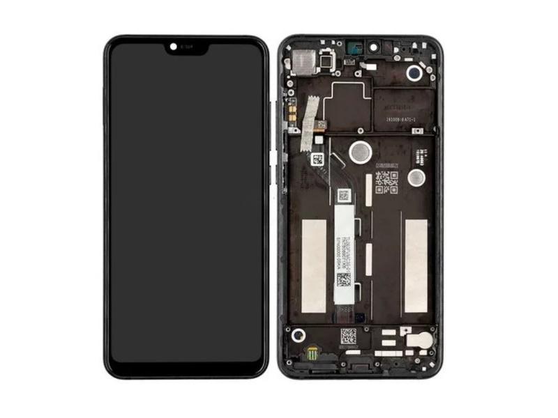 Xiaomi Mi 8 Lite LCD + Touch + Frame - Grey (Service Pack)
