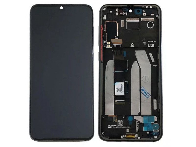 Xiaomi Mi 9 SE LCD + Touch + Frame - Violet Blue (Service Pack)