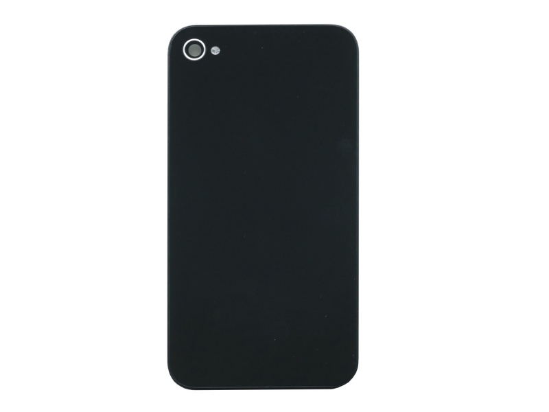 Back Cover Black pro Apple iPhone 4S