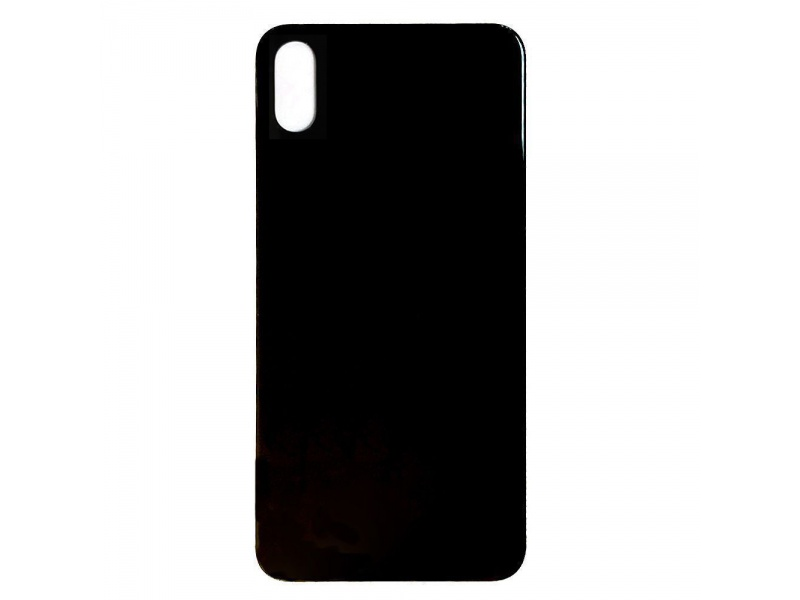Back Cover Glass pro Apple iPhone XS (Black)