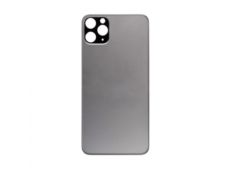 Back Cover Glass for Apple iPhone 11 Pro (Black)