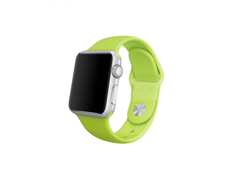 COTEetCI Silicone Sports Band for Apple Watch 42 / 44mm Green