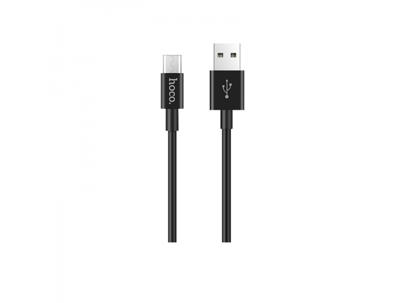 Hoco Skilled Charging Data Cable - Micro USB (1m) (Black)