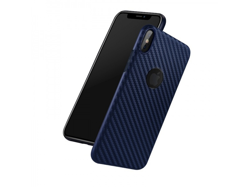 Hoco Delicate Shadow Series Protective Case for iPhone XS Max (Blue)