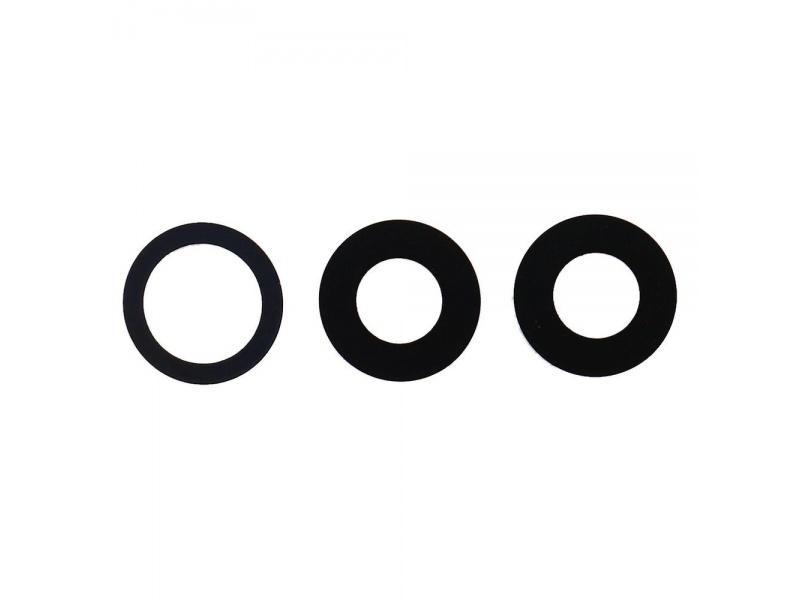 Back Camera Lens Set + Original Adhesive pro Apple iPhone 11 Pro / 11 Pro Max