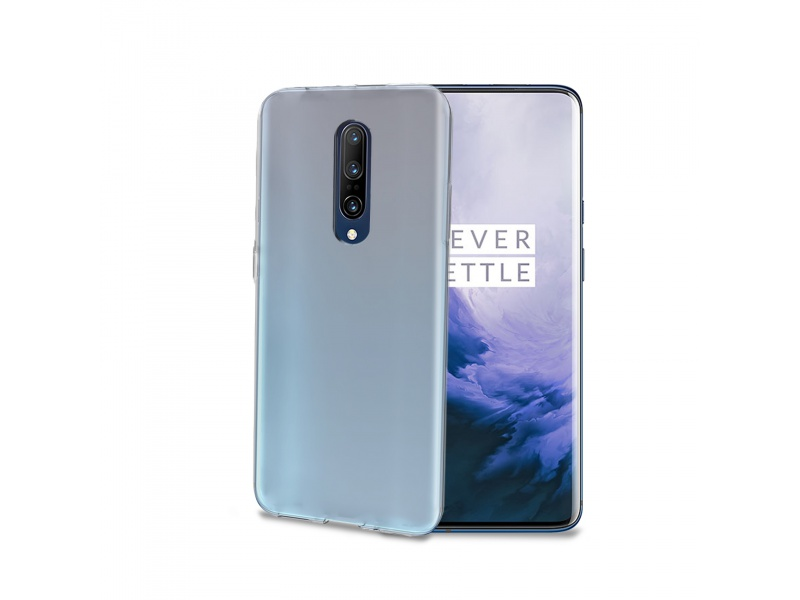 Celly TPU Case for One Plus 7 Pro Transparent