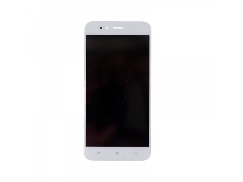 Xiaomi Mi A1 LCD + Touch + Frame (Separated) - White (OEM)