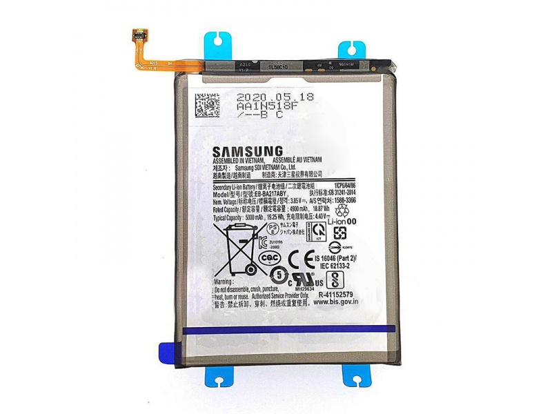 Samsung Battery EB-BA217ABY Li-Ion 5000mAh (Service Pack)
