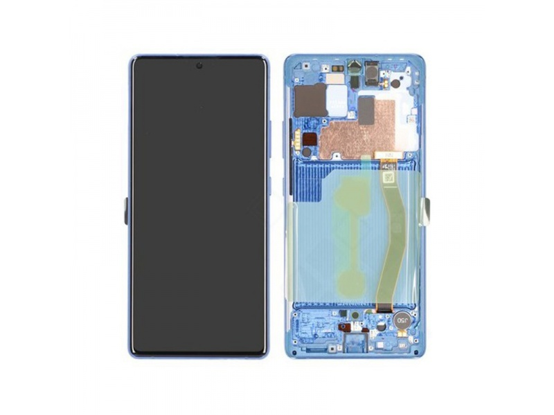 Samsung Galaxy S10 Lite G770F LCD + Touch + Frame Prism Blue (Service Pack)