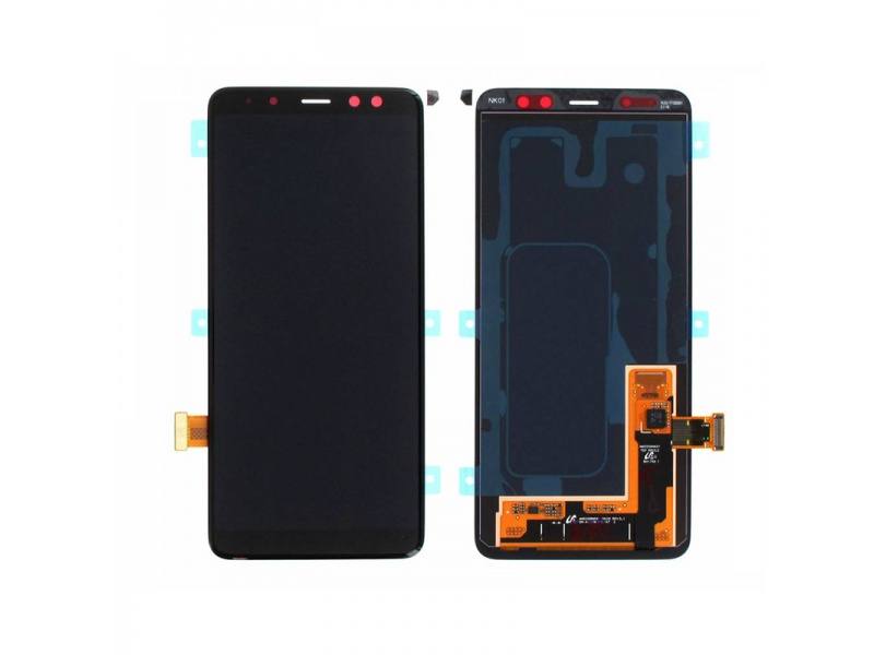 Samsung Galaxy A8 A530 2018 LCD + Touch Black (Service Pack)