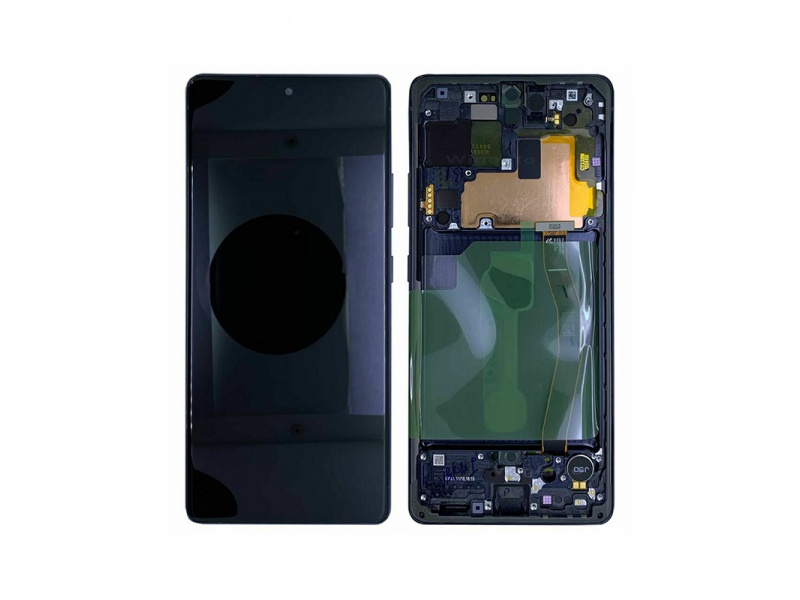 Samsung Galaxy S10 Lite G770F LCD + Touch + Frame Prism Black (Service Pack)