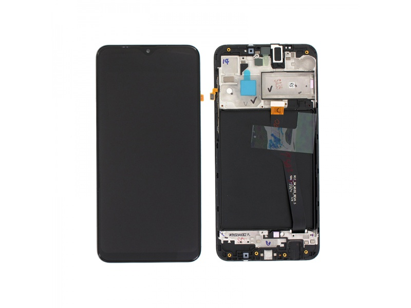 Samsung Galaxy A10 A105 2019 LCD + Touch + Frame Black (Service Pack) non EU version