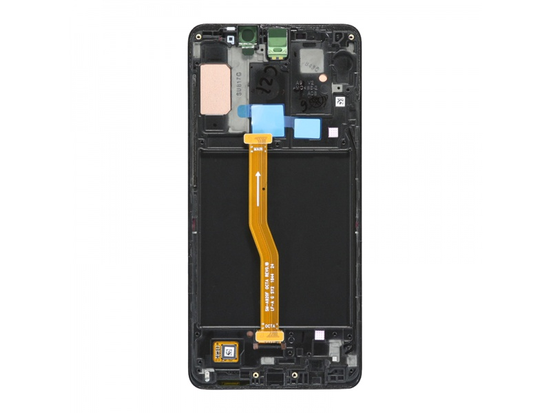 Samsung Galaxy A9 A920 2018 LCD + Touch + Frame Black (Service Pack)
