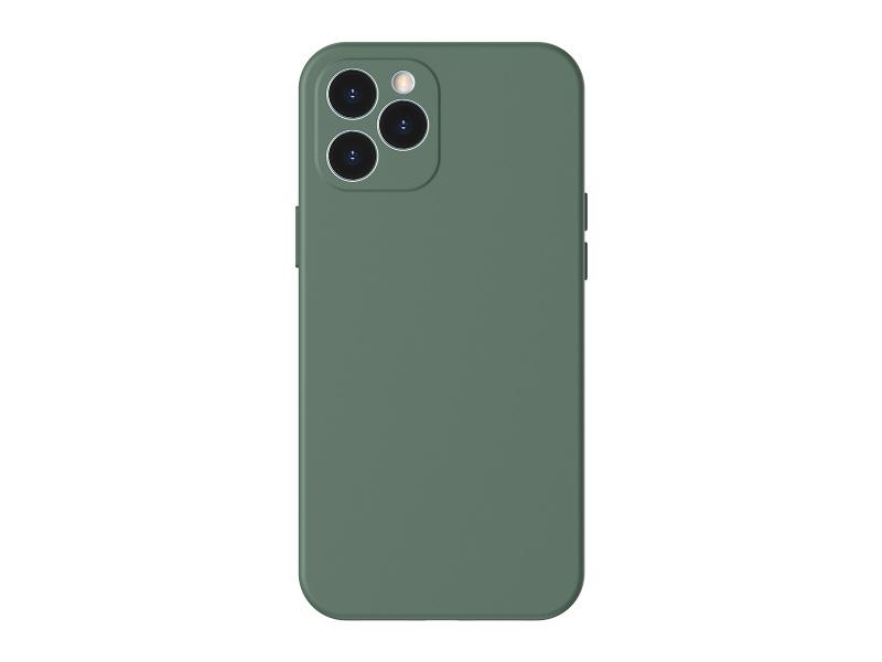 Baseus Liquid Silica Gel Protective Case for iPhone 12 Pro 6.1 Green
