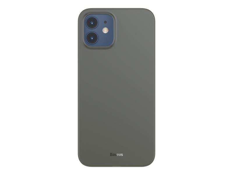 Baseus Wing Case for iPhone 12 6.1 Transparent Black