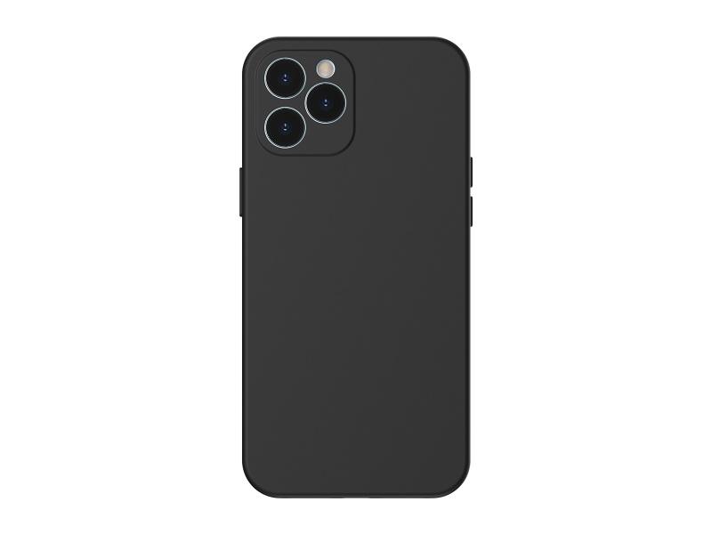 Baseus Liquid Silica Gel Protective Case for iPhone 12 Pro 6.1 Black