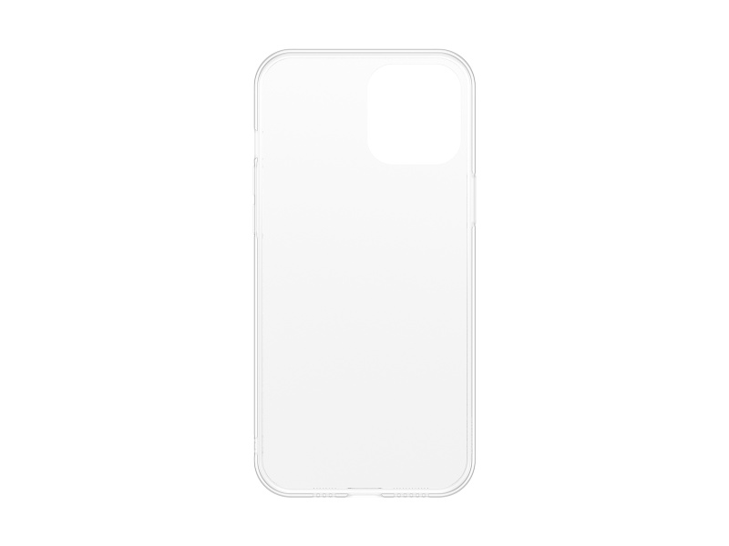 Baseus Frosted Glass Protective Case for iPhone 12 Mini 5.4 Transparent White